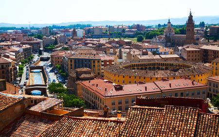 zaragoza: General view of Tarazona. Zaragoza,  Spain Stock Photo