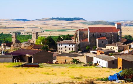 spanish village: General view of  spanish village.  Palenzuela