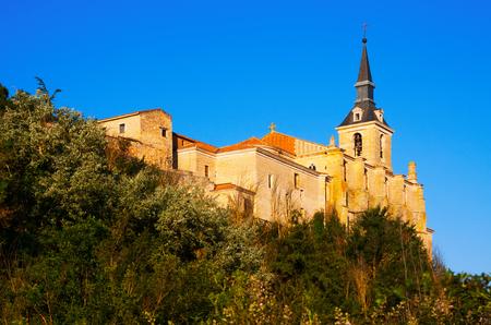 san pedro: Collegiate church of San Pedro in Lerma,  Spain