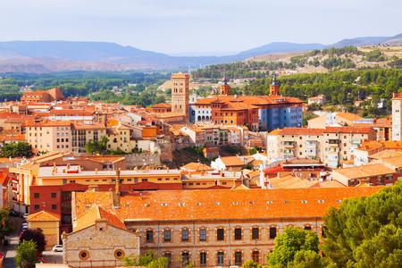 aragon: Teruel with  landmarks.  Aragon, Spain Stock Photo