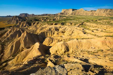 navarra: Desert landscape of  Navarra, Spain