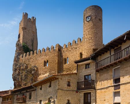 castile: Frias castle (12th-15th century).  Burgos, Castile and Leon, Spain