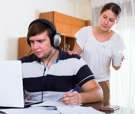 the spouse: european spouse cannot receive attention from partner freelancer