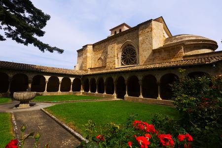 san pedro: Church of San Pedro de la Rua at Estella-Lizarra. Navarre