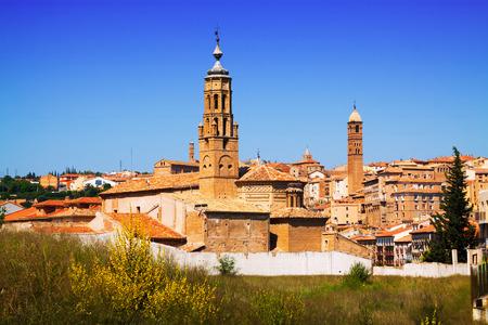 aragon: Historical part of Tarazona in   day time. Zaragoza,  Aragon, Spain