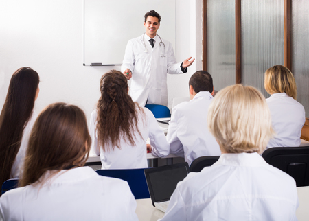 medical school: adult positive russian health-care workers during educational program in medical school