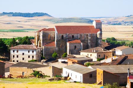 spanish village: General view of  spanish village.  Palenzuela,    Spain
