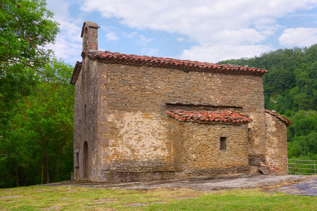 magdalena: Church of Santa Magdalena in Besalu. Catalonia, Spain