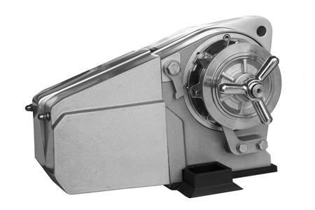 windlass: New horizontal anchor windlass with electric motor, isolated
