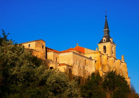 san pedro: Collegiate church of San Pedro in Lerma. Castile and Leon, Spain