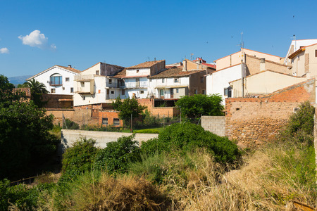 aragon: Residence district in Tarazona. Aragon