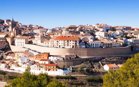 chinchilla: View of Chinchilla de Monte-Aragon. Province of Albacete, Spain