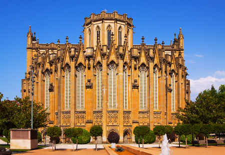 immaculate: Cathedral of Mary Immaculate. Vitoria-Gasteiz, Spain