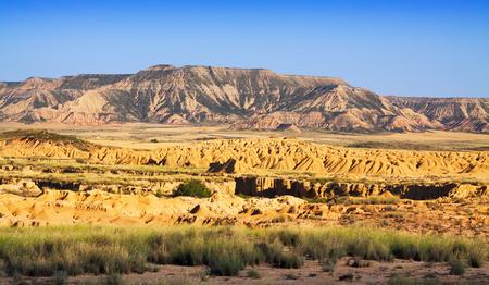 navarra: landscape of Navarra in summer. Spain Stock Photo