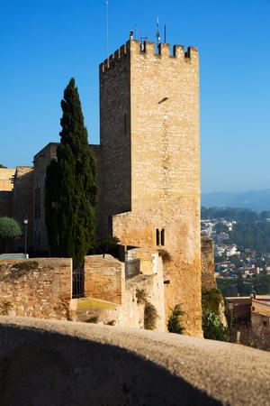 ebre: Tower of Suda castle in Tortosa. Catalonia Editorial