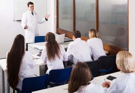 medical school: adult positive european health-care workers during educational program in medical school