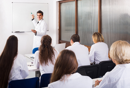 medical school: adult spanish health-care workers during educational program in medical school