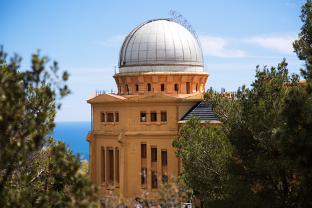 observational: Fabra Observatory in Barcelona. Catalonia, Spain