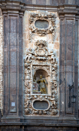 isabel: Detail of  Santa Isabel de Portugal. Zaragoza, Spain