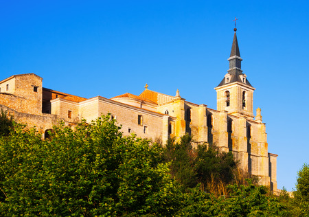 san pedro: Collegiate church of San Pedro in Lerma, Province of Burgos. Castile and Leon, Spain
