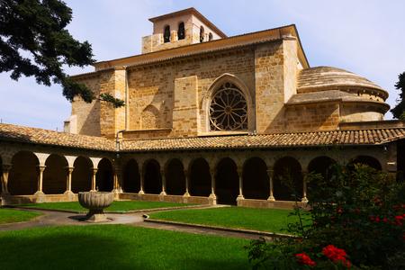 san pedro: Church of San Pedro de la Rua at Estella-Lizarra