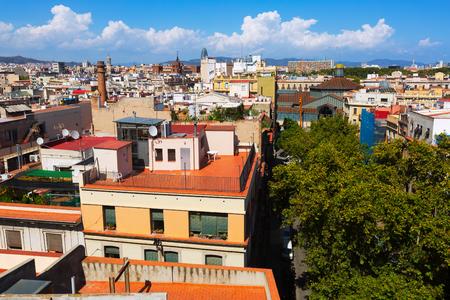 gotico: la ciudad de Santa María del mar. Barcelona, ??España
