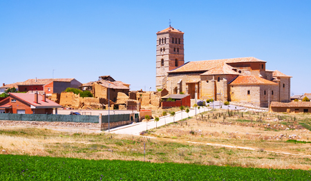 Church of Torremormojon. Province of Palencia,  Spain