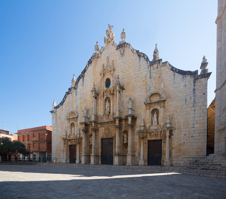 Church of Saint John the Baptist in Alcala De Xivert. Spain