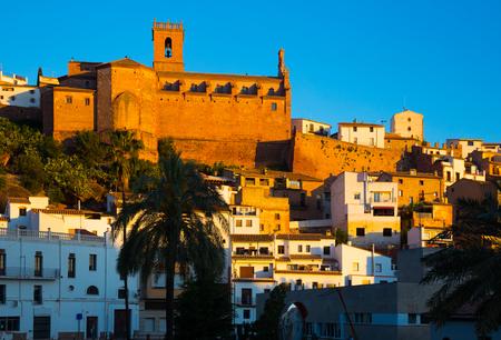 mediterranean culture: Parish church of Villafames. Valencia, Spain