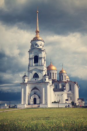 Assumption cathedral  at Vladimir in summer. Russia