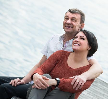 Spanish mature couple