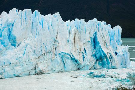 Glacier Perito Moreno (Glaciar Perito Moreno), southeast of Argentina, province Santa Cruz Stock Photo