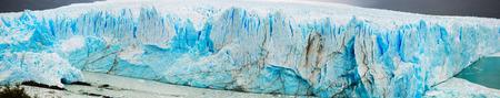 los glaciares: General view of the Perito Moreno Glacier in Los Glaciares National Park in Argentina