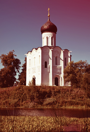 nerl: Church of the Intercession on River Nerl was constructed between 1158?1165. Russia
