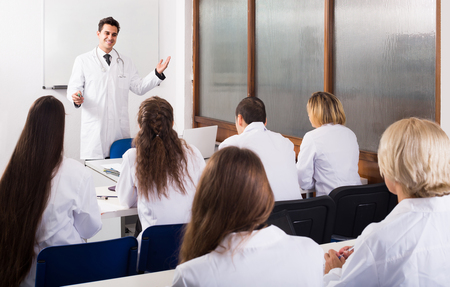 physiotherapists: adult positive health-care workers during educational program in medical school