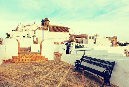 street view of Arcos de la Frontera,  Spain