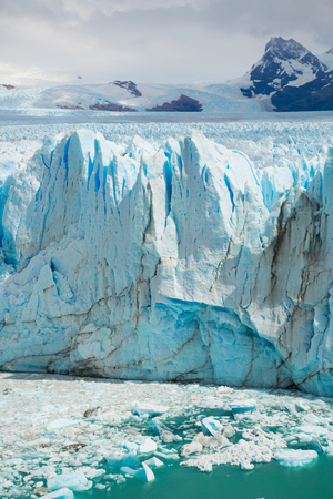 provinces: Spectacular view on the Perito Moreno Glacier in Los Glaciares National Park in Argentina