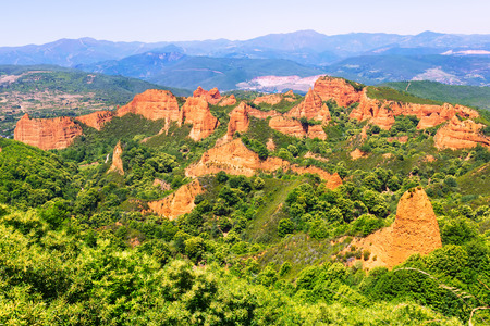 Mountains landscape in summer.     Spain
