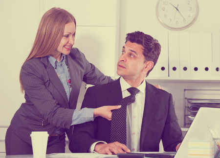 reciprocity: Sexual harassment between colleagues and flirting in office
