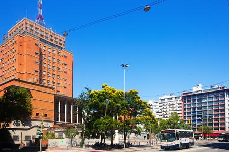 exposición: MONTEVIDEO, URUGUAY - 19 DE FEBRERO DE 2017: Museo de la historia del arte en Montevideo. Montevideo, Uruguay Editorial