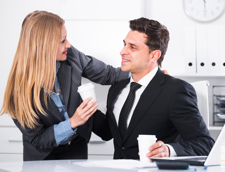 Playful flirting from sexual harassment