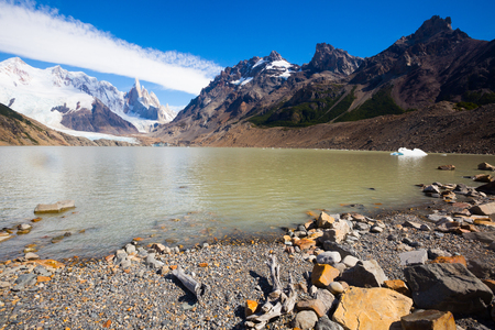 roy: Spectacular view on mountain peaks in Los Glaciares National Park in Argentina