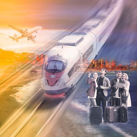 Varianti di viaggio per coppie con diversi mezzi di trasporto