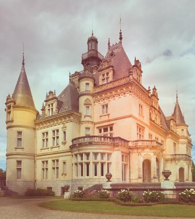 Image of historical object in France Montrejeau castle of Valmirande