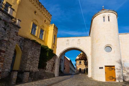 City landscape in the old town of Veszprem, Hungary