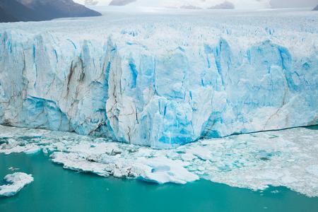 Glacier Perito Moreno (Glaciar Perito Moreno) on sunny summer day. Patagonia, Argentina, Andes