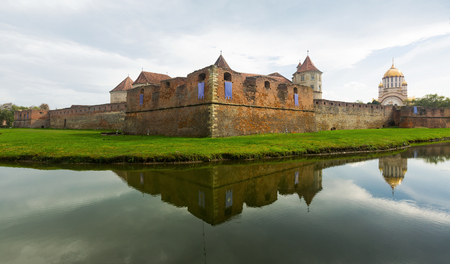 Castle in Fagaras is arhitectural landmark in Romania.