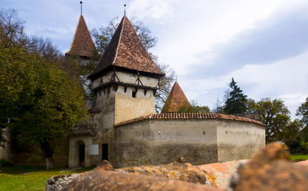 Church Fortification in Cincsor is architecture landmark in Romania.