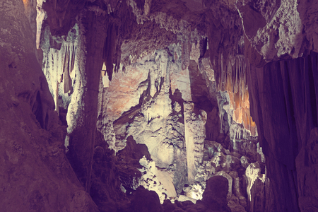 Cave of Demons is geological sight of Southern France outdoor.