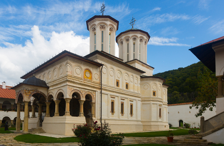 Image of Monastery Horezu in Romania outdoor.